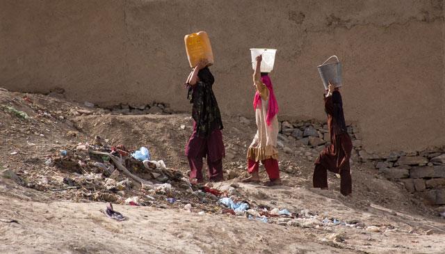 アフガニスタンの水事情